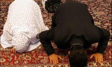 تقدم مرد بر زن در نماز