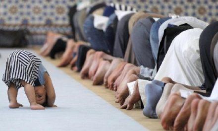 گم شدن مهر هنگام نماز