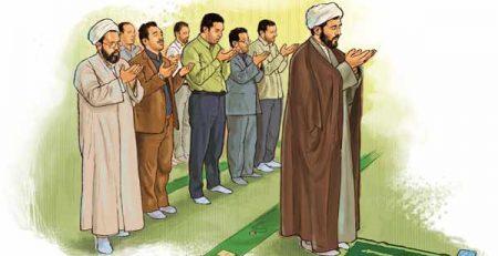 پيوستن به نماز جماعت و تاخیر در نماز جماعت
