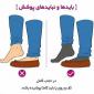 پوشش روی پا