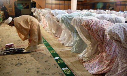 ترتیب در نماز
