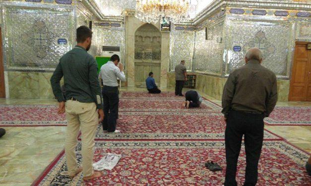 برگرداندن صورت در نماز