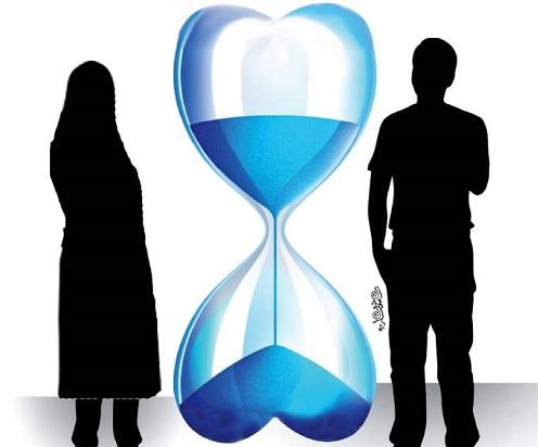 اذن پدر  در ازدواج موقت دختر 41 ساله