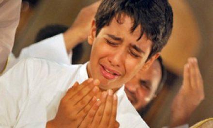 گریه کردن برای امور دنیوی در نماز