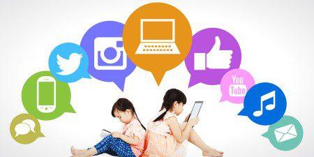 استفاده از شبکه های مجازی