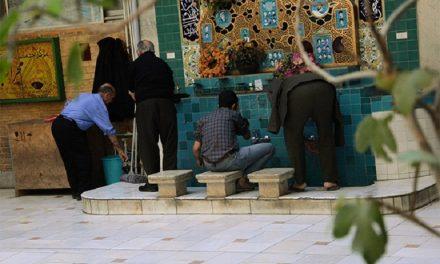 حکم استفاده از آب مسجد